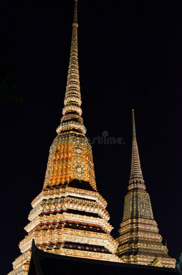 Scena del tempio di Bangkok immagine stock