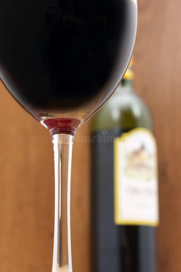 Scena del vino fotografia stock