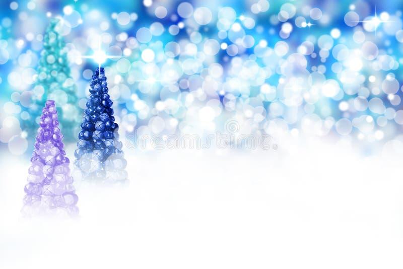 Scena dell'albero di Natale fotografia stock libera da diritti