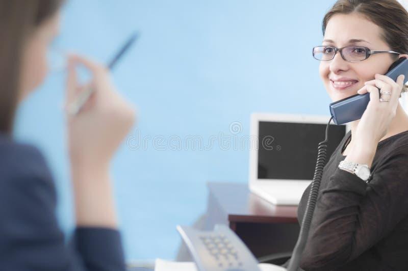 Scena dell'ufficio immagini stock