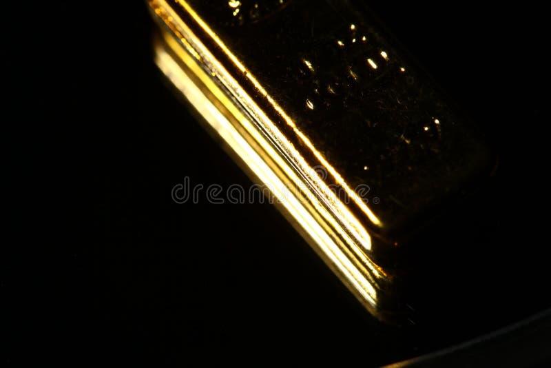 Scena della barra di oro fotografia stock libera da diritti
