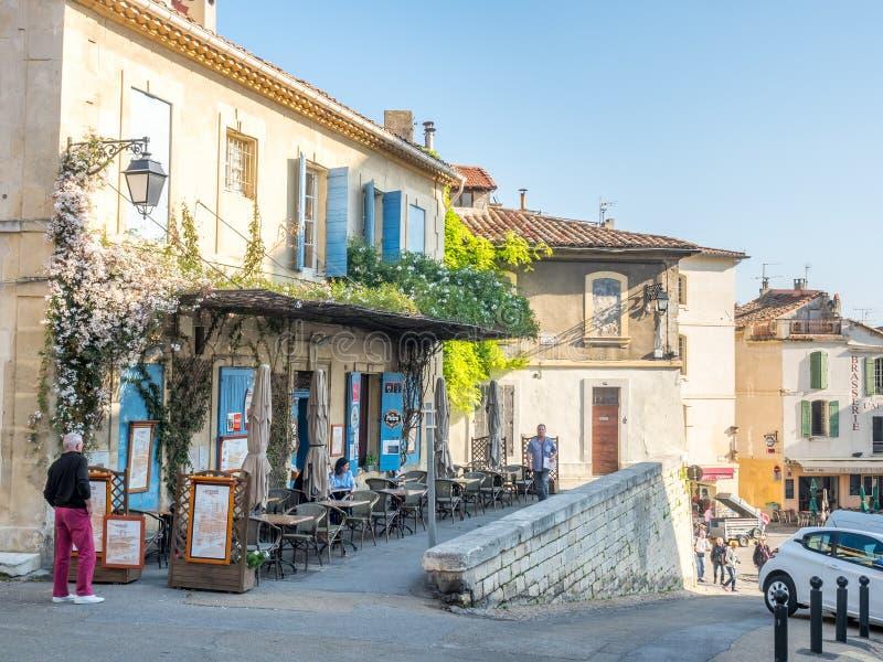 Scena della città in Arles fotografia stock libera da diritti