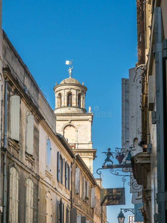 Scena della città in Arles immagini stock