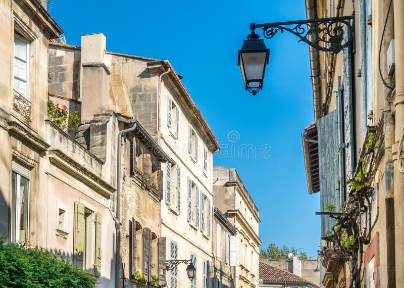 Scena della città in Arles, Francia immagini stock