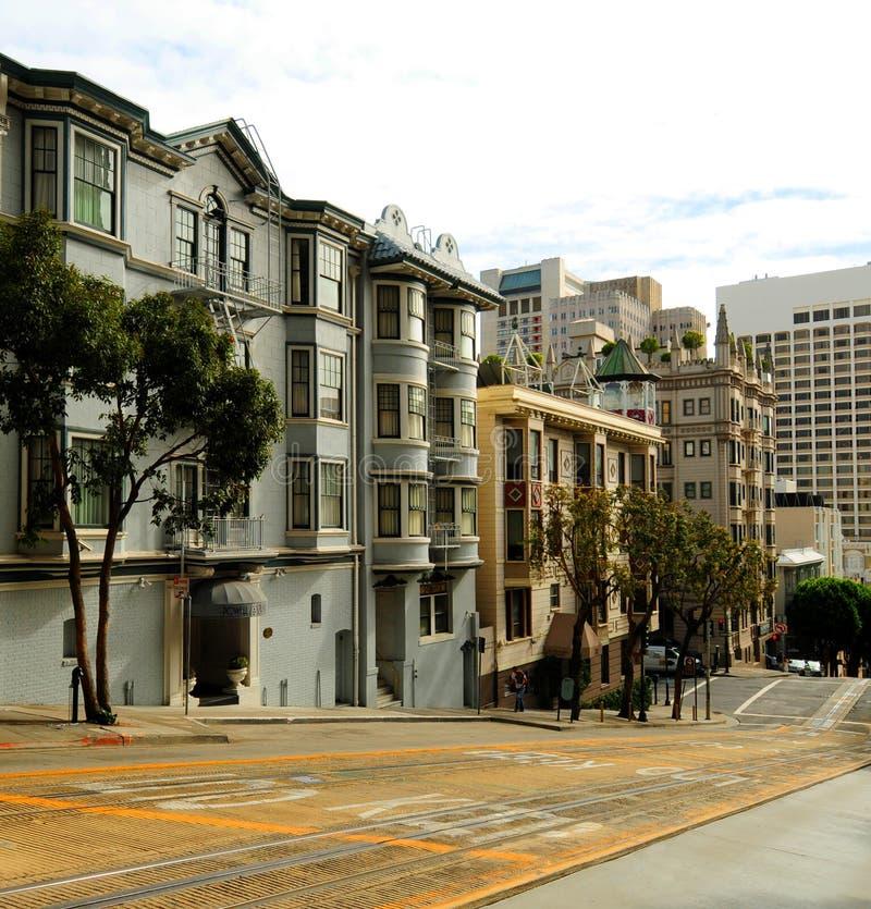 Scena della via di San Francisco immagine stock