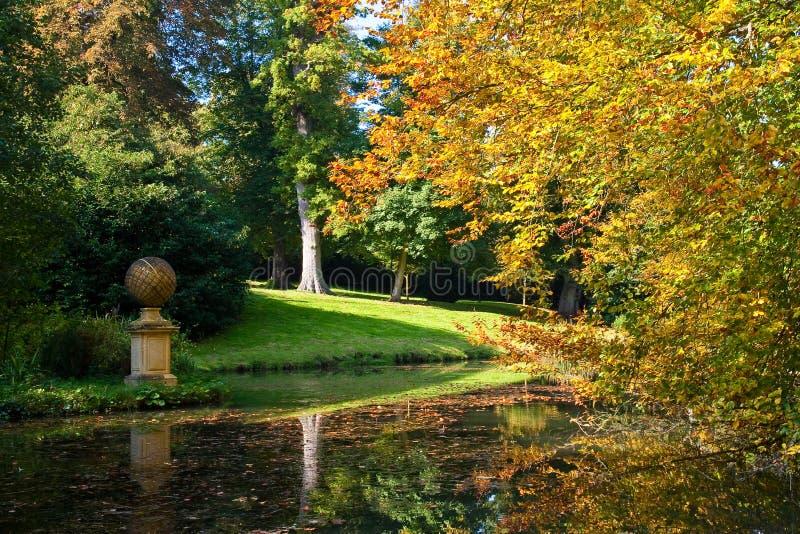 Scena di autunno fotografie stock