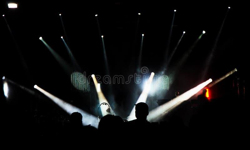 Scena di concerto immagini stock