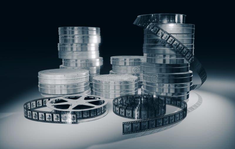 Scena di concetto di cineasta immagini stock