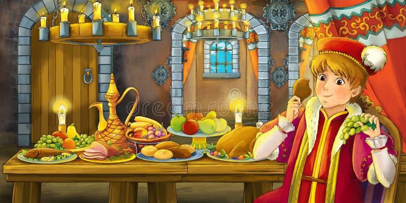 Scena di fiaba del fumetto royalty illustrazione gratis