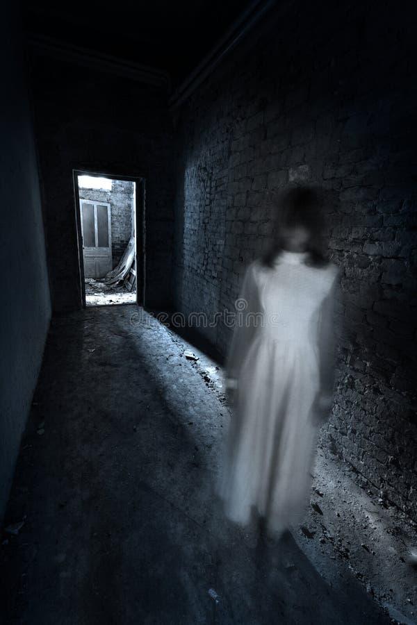 Scena di film horror immagine stock