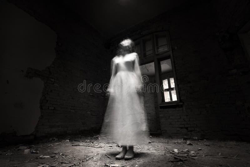 Scena di film horror fotografie stock libere da diritti