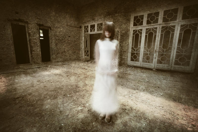 Scena di film horror fotografie stock