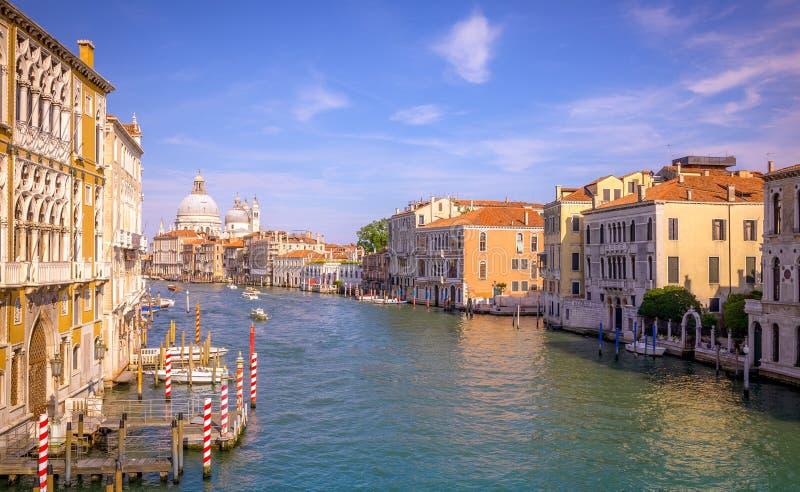 Scena di Grand Canal, Venezia immagine stock libera da diritti