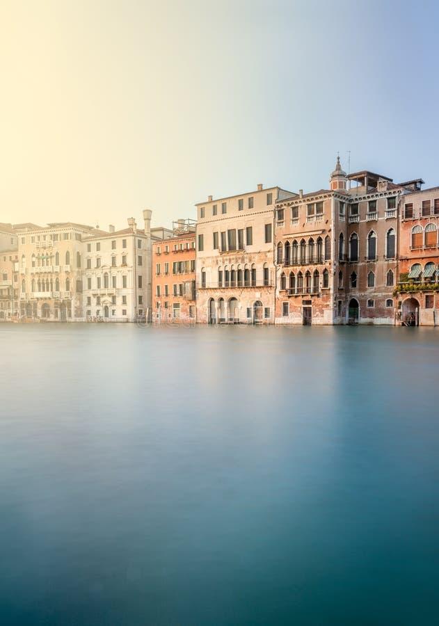 Scena di Grand Canal, Venezia fotografie stock