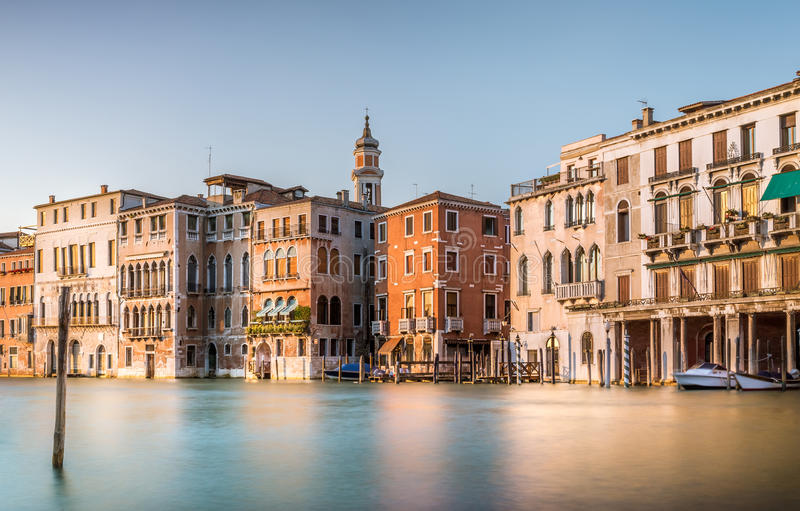 Scena di Grand Canal, Venezia immagine stock