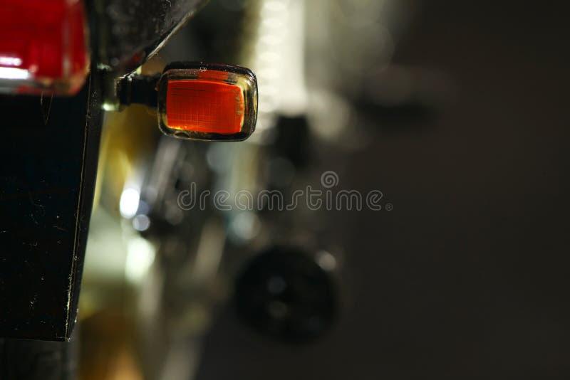 Scena di modello del motociclo fotografie stock