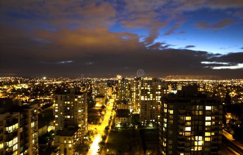 Scena di notte immagini stock libere da diritti