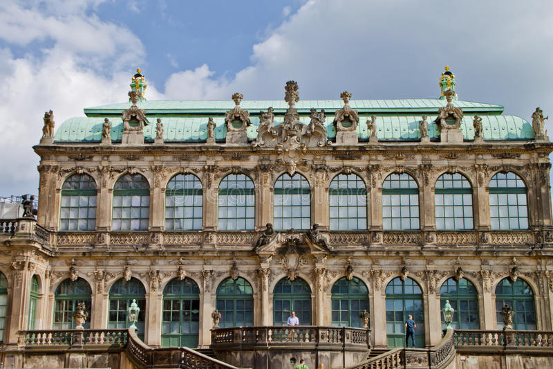 Scena a Dresda, Germania fotografie stock