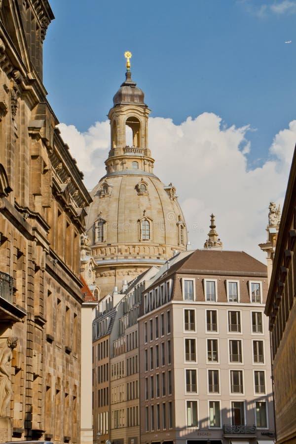 Scena a Dresda, Germania fotografie stock libere da diritti