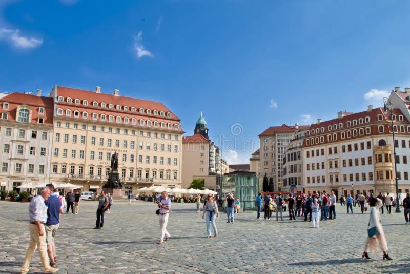 Scena a Dresda, Germania fotografia stock libera da diritti