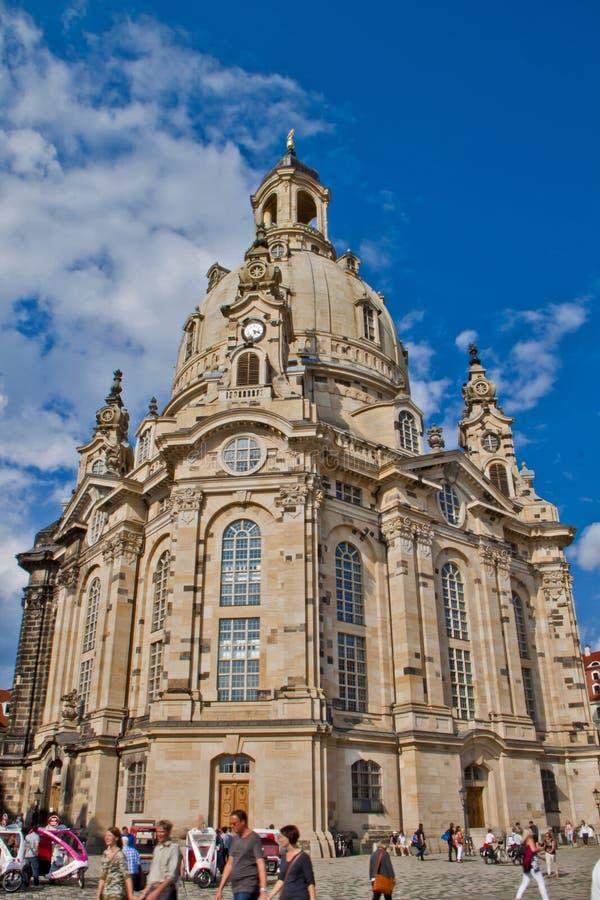 Scena a Dresda, Germania fotografia stock