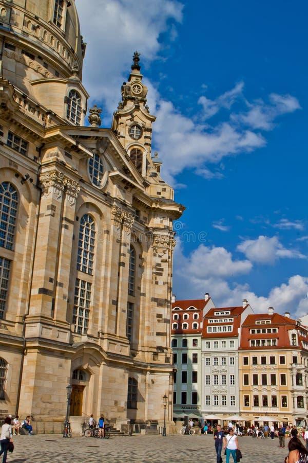 Scena a Dresda, Germania immagini stock libere da diritti