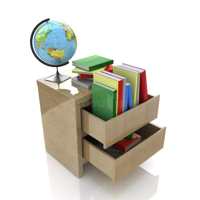 Scena edukacja ilustracji