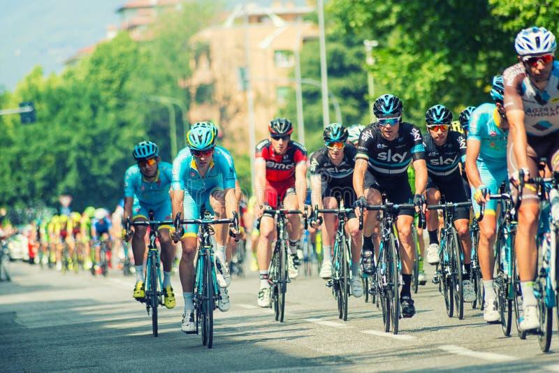 Scena 17 Giro d'Italia zdjęcia stock