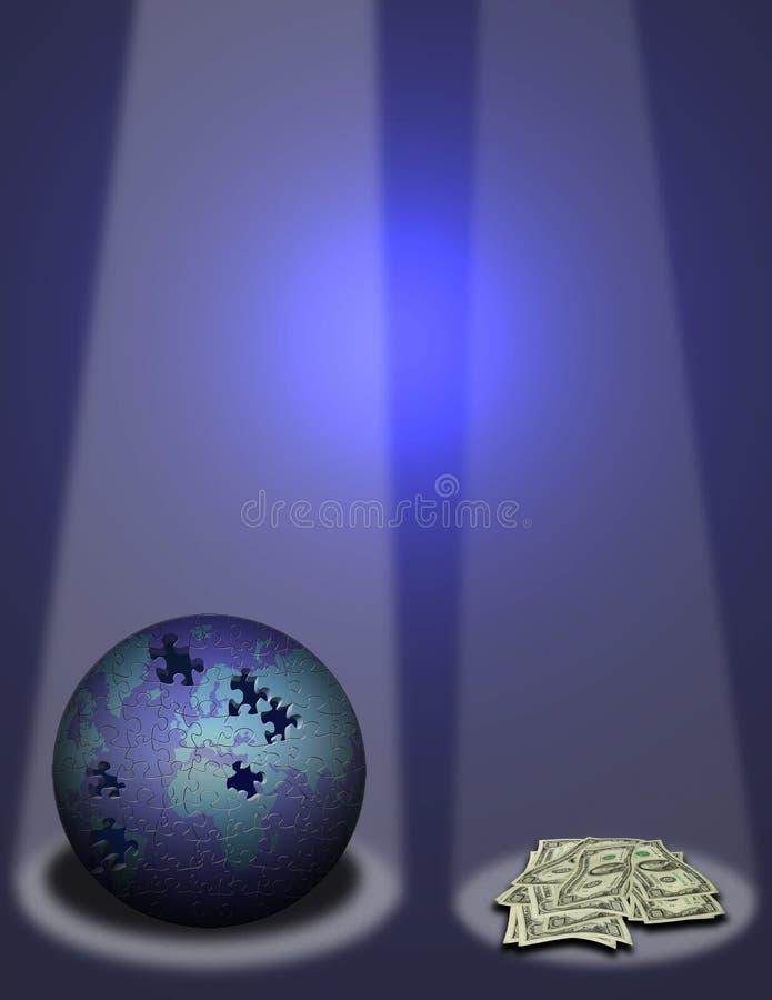 scena marzeń royalty ilustracja