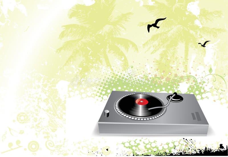 scena muzyczna abstrakcyjna ilustracji