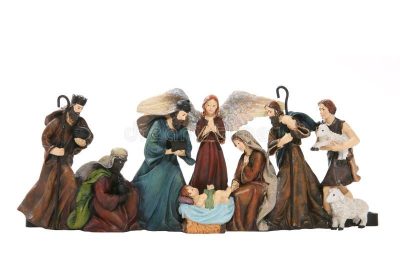 scena narodzenie jezusa obraz royalty free