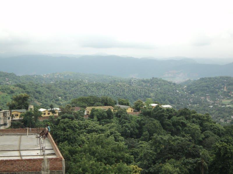 Scena naturale di Guwahati immagine stock libera da diritti
