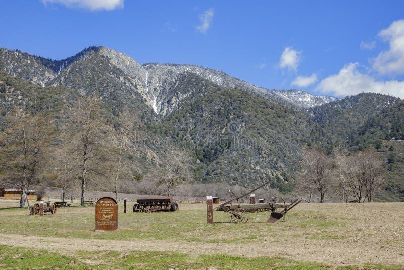 Scena naturale intorno alla quercia Glen Preserve fotografie stock libere da diritti