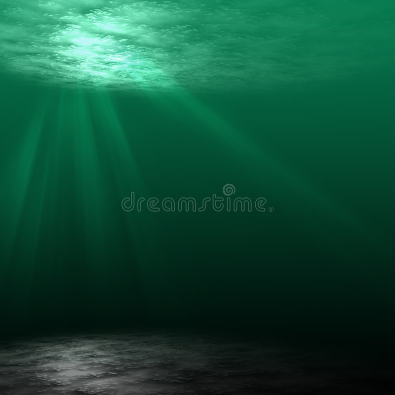 scena podwodna obrazy royalty free