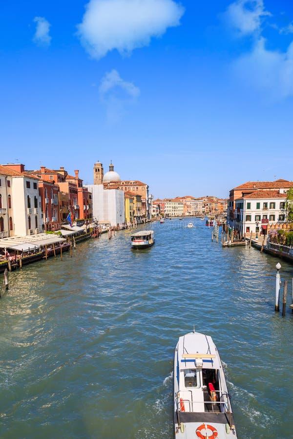 Scena pubblica di Grand Canal fotografia stock libera da diritti