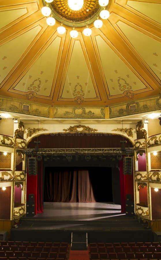scena pusty stary teatr zdjęcia royalty free