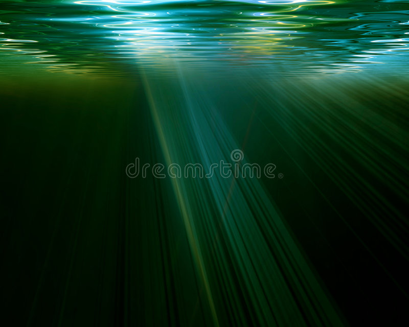Scena subacquea illustrazione vettoriale