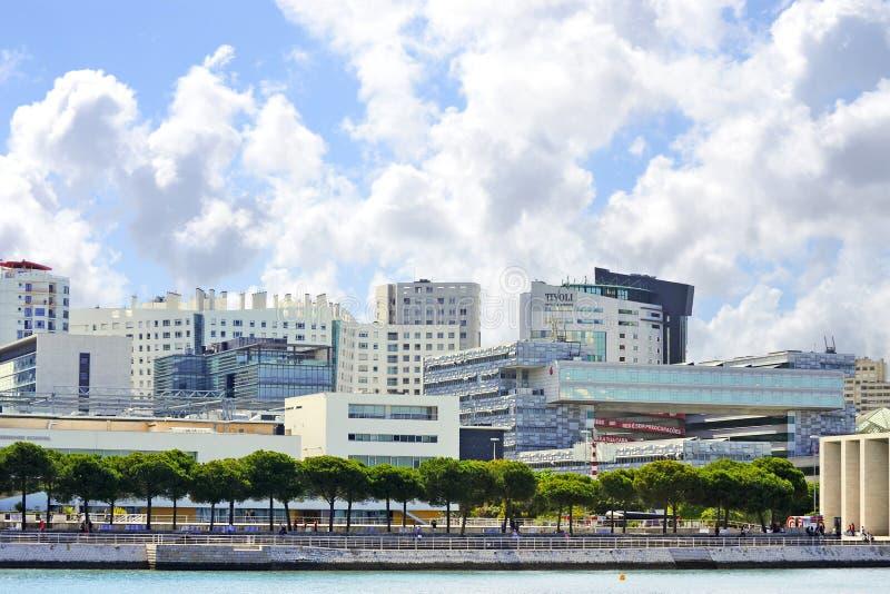 Scena turistica EXPO98 fotografia stock