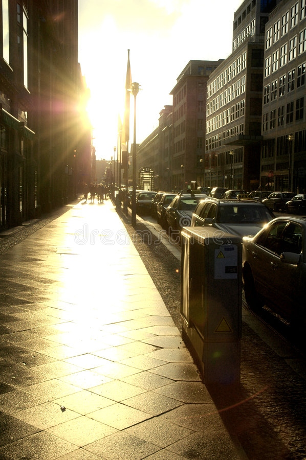 Scena urbana immagine stock libera da diritti