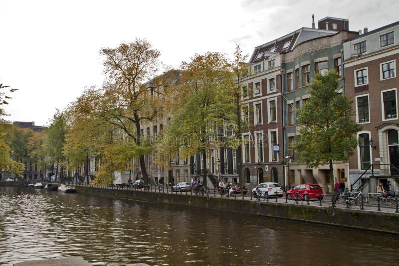Scena w Amsterdam, Holandia zdjęcia stock