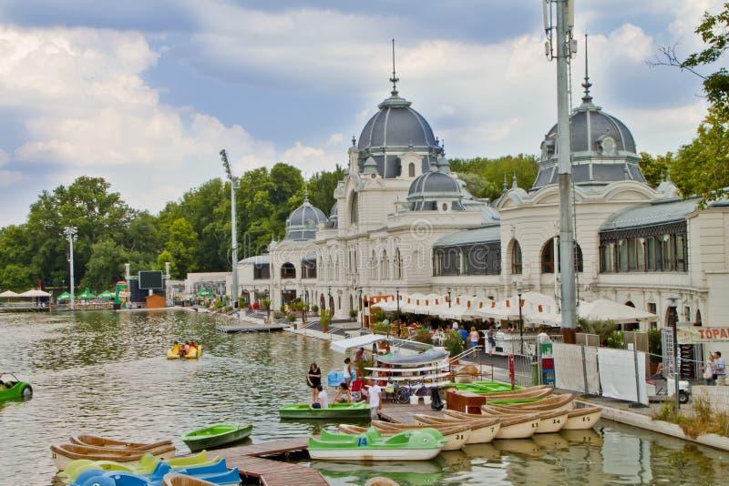 Scena wewnątrz, Budapest Węgry zdjęcie royalty free