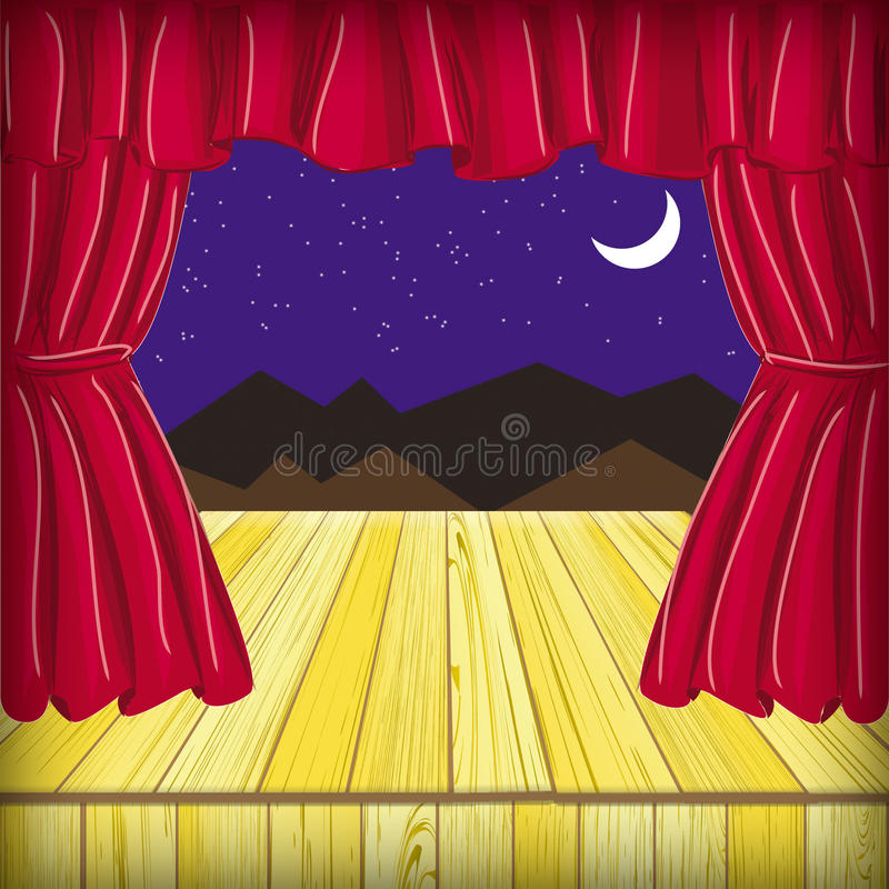 Download Scene stock illustration. Image of show, window, heavy - 25896147