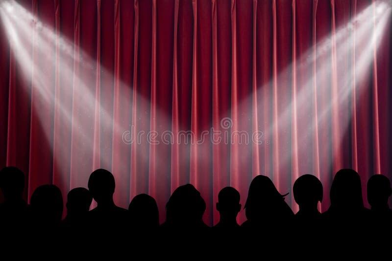 Download Scene stock illustration. Image of perform, opera, movie - 8839048