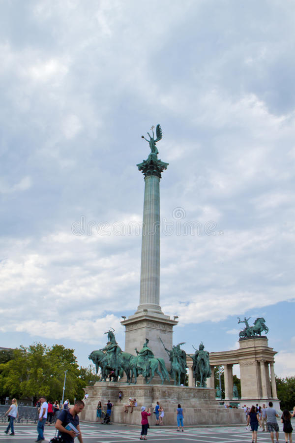 Scene in Budapest,Hungary royalty free stock image