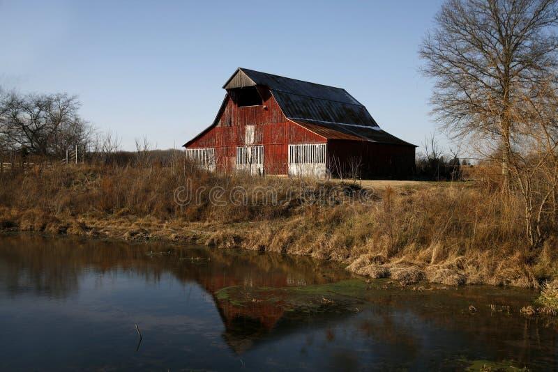 Scene dell'azienda agricola del Tennessee immagine stock libera da diritti
