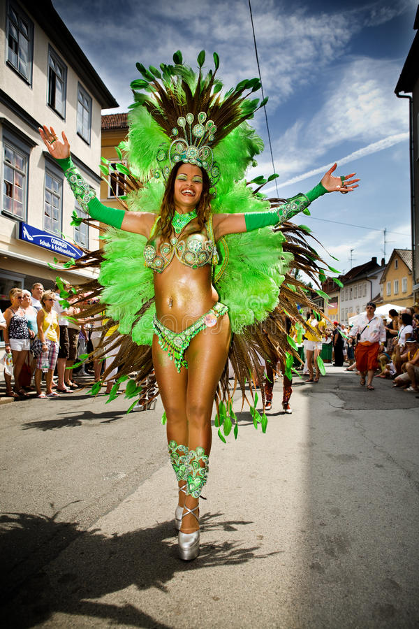 Scene della samba fotografie stock