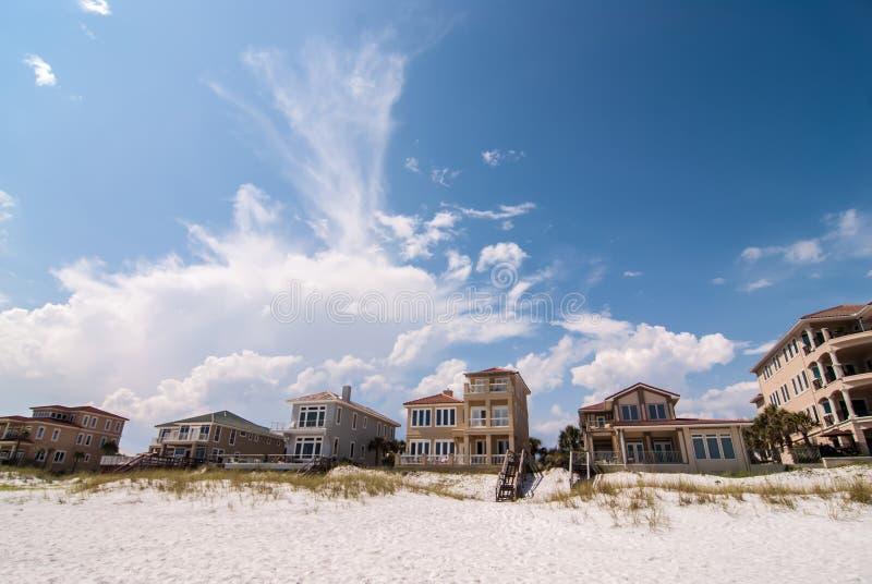 Scene della spiaggia di Destin Florida fotografia stock