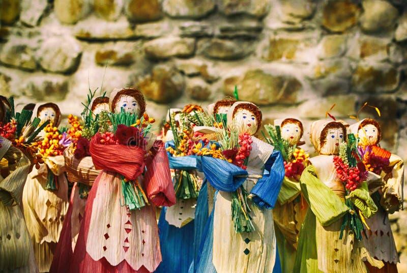 Scene Dolls stock photography