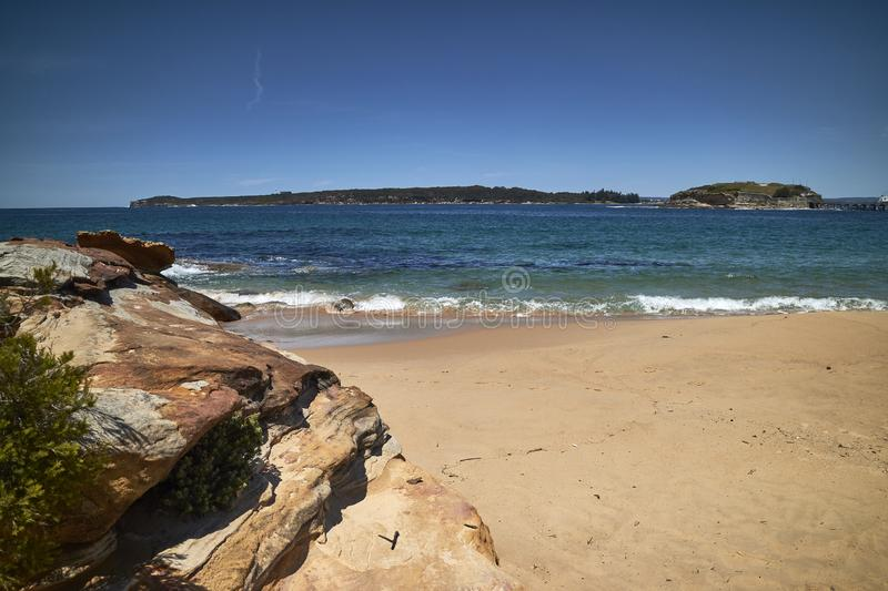 A scene of La Perouse, Sydney. A sunny day at one of the beaches at La Perouse, Sydney, NSW, Australia royalty free stock photography