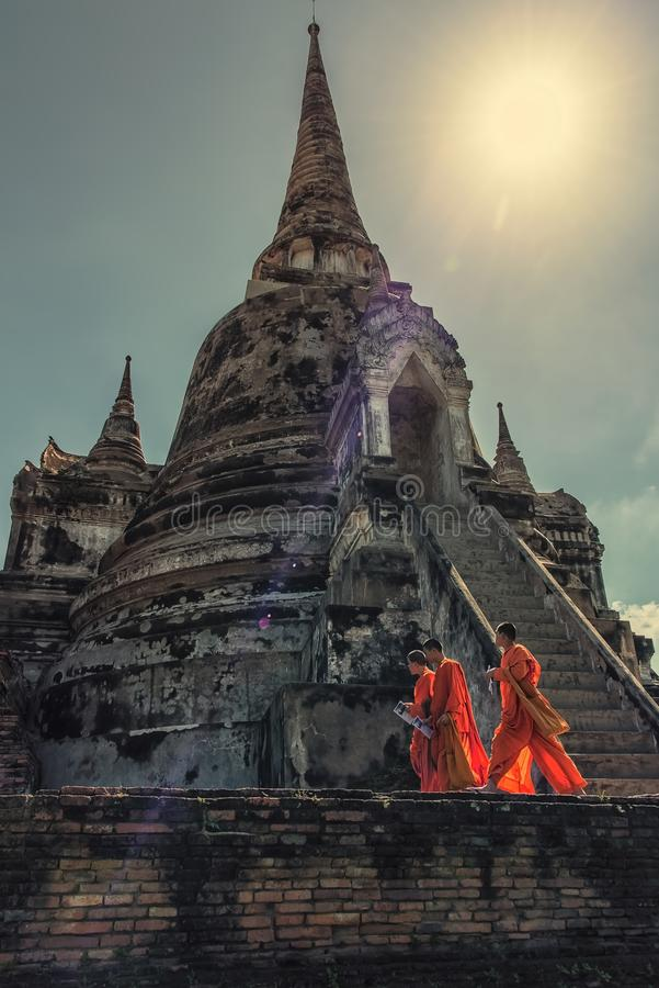 Download Scene of life in Ayutthaya editorial stock photo. Image of thai - 109091698